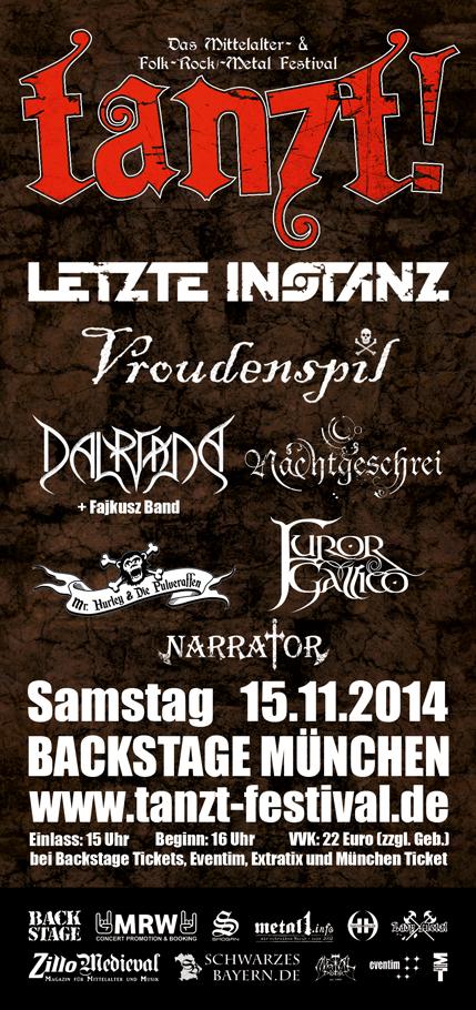 TANZT! 2014 - Flyer